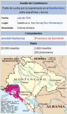 Asedio de Castelnuovo - Castelnuovo siege